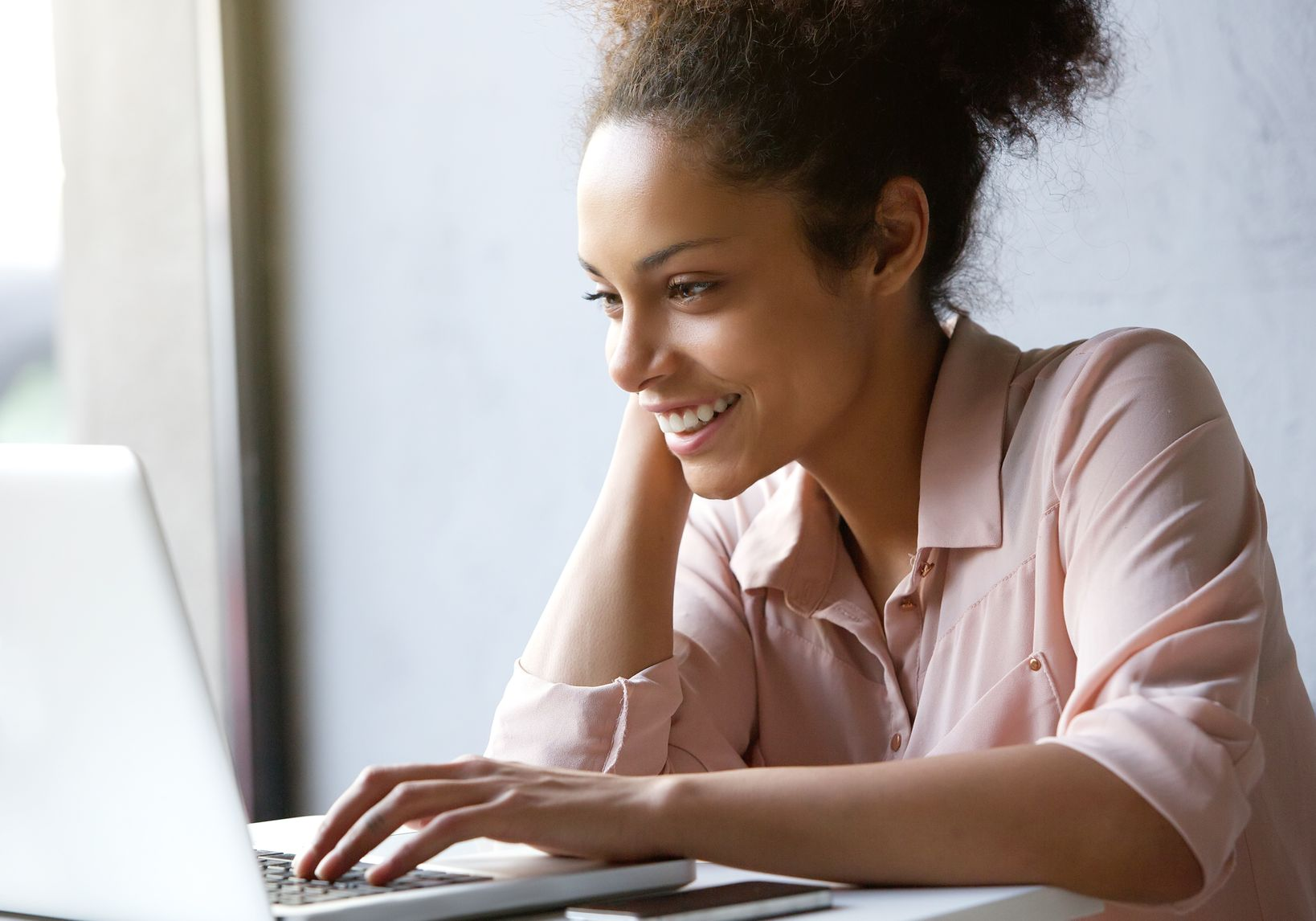 An online portfolio is great for students entering the workforce.