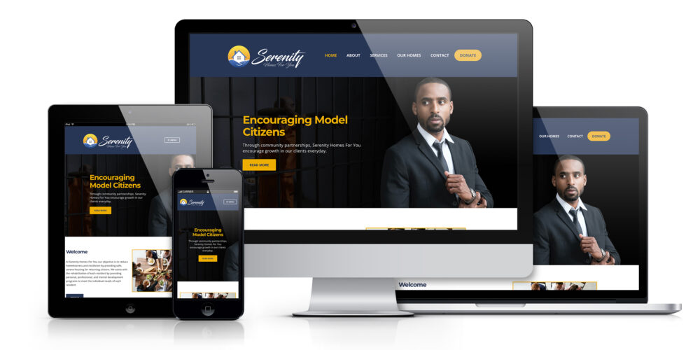 Serenity Homes For You Web project